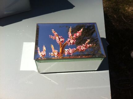 Mirror Cherry Blossom Jewellery box Rouse Hill The Hills District Preview