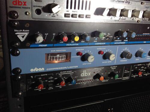 ORBAN Model 412A COMPRESSOR/LIMITER Single channel