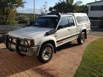 Ford Courier  XLT 4x4 with 4 seat cab - lived in Melb so no rust! Castaways Beach Noosa Area Preview