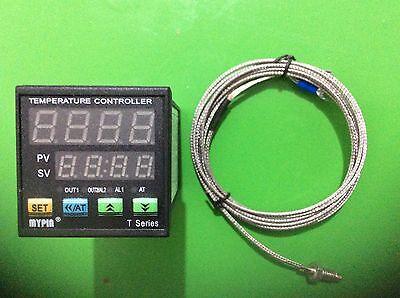 90-260v Digital 96wx96hx80l Pid Temperature Controller Ta9-ssr 2 Alarmsk Sensor