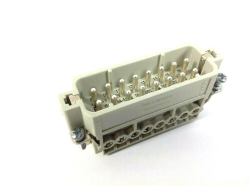 Harting 09200162612 Male Insert 16 Position