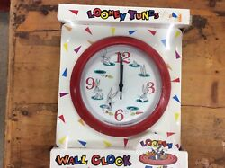 Westclox Presents LOONEY TUNES Warner Bros 1994 Wall Clock Bugs Bunny Simplicity