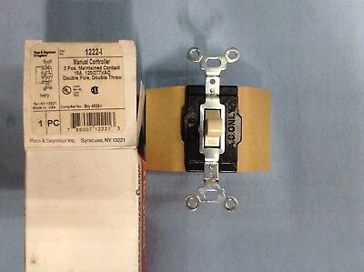 Legrand-pass Seymour 1222 - Switch Manual Control 15a 120277v Dpdt