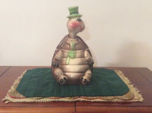 Vintage Twin Winton Tommy the Turtle Cookie Jar, Rare