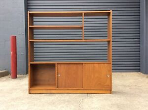 ROOM DIVIDER Solid KAURI MID CENTURY Sideboard Bookshelf - 2 of 2 Bayswater Knox Area Preview