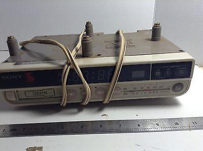 Vintage Sony Digital Under The Cabinet Kitchen Clock Radio