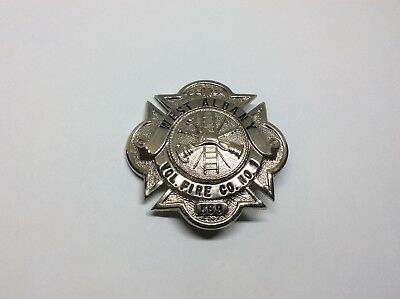 Oregon? New York? California? West Albany Volunteer Fire Co No 1 Dept Badge Pin
