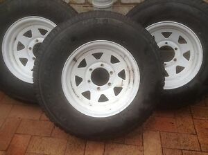 4 x4 wheels rims & tyres Bogangar Tweed Heads Area Preview