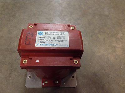 Allen Bradley 80025-238-02 Voltage Transformer 50 Kv 3600-120 Ratio 8002523802