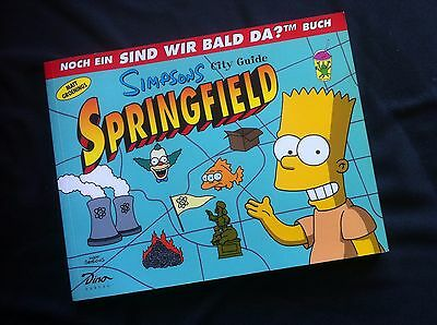 Simpsons City Guide Springfield - Taschenbuch - 1999
