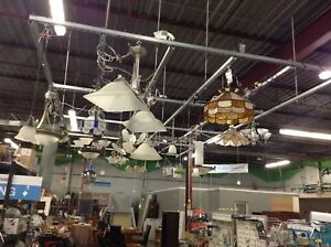 New and Gently Used Light Fixtures at the HFH ReStore