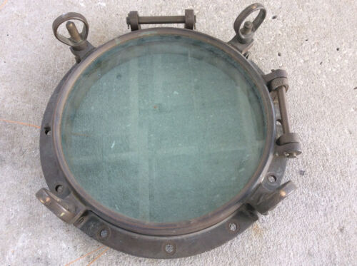 brass  ship port hole window