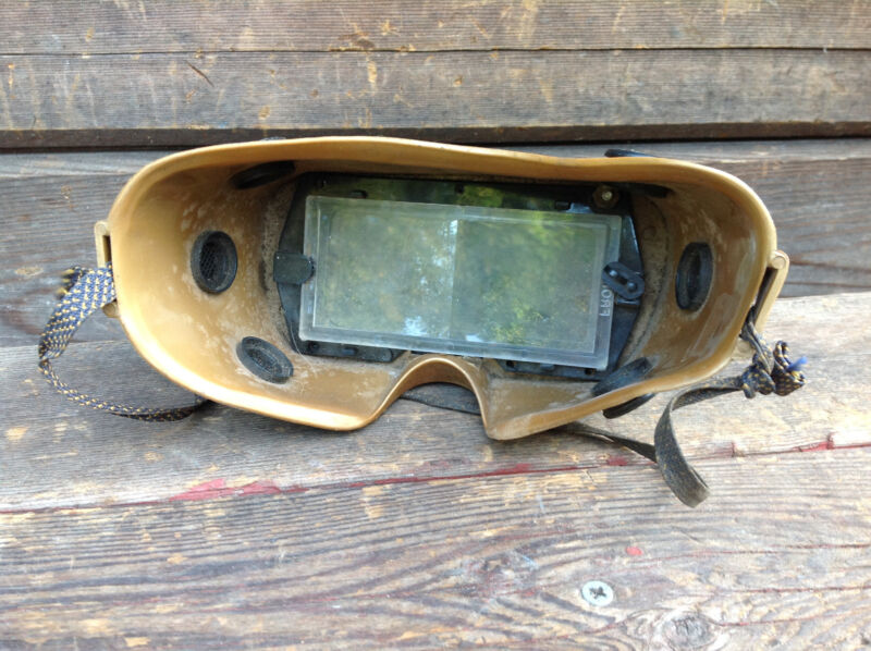 Vintage Pair of Glendale Optical Welding Goggles