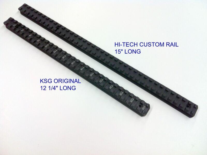 Kel-Tec KSG or KS7 Compatible Extended Top Picatinny Rail - by Hi-Tech Custom