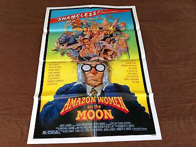 1987 Amazon Women On The Moon Original Movie House Full Sheet Poster