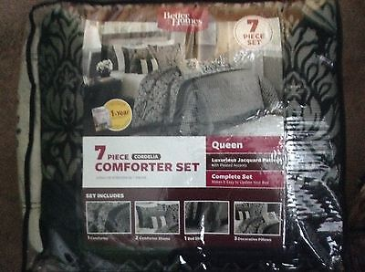 Better Homes and Gardens   7-Piece Comforter Bedding Set - Queen (Best Queen Size Comforters)