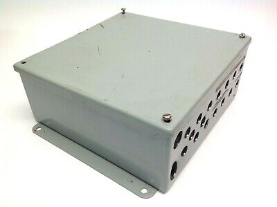 Hoffman 10x10x4 Industrial Control Enclosure 10 X 10 X 4 W Back Panel