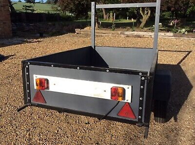Car Trailer - 6ft x 4ft x 17 inches depth - used and in roadworthy condition