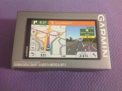 Garmin DriveSmart 61 LMT-S Navigation GPS