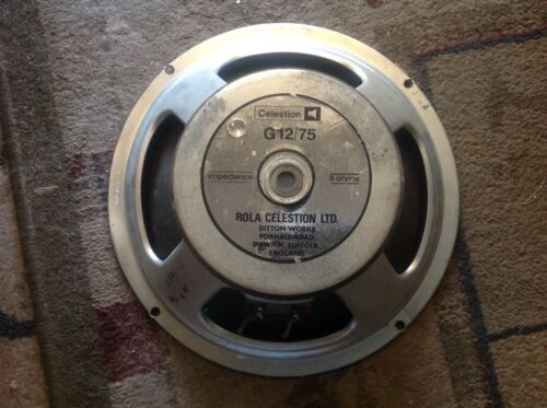 """RAIR"" Celestion 12/75  Guitar Speaker, 8 ohm 1978/79"