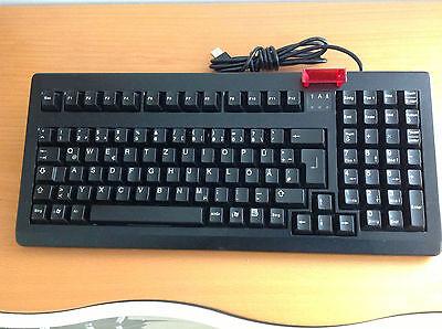 Posten 10X Kassen Tastatur CHERRY G80-18xx USB  m Chipkartenleser Schwarz QWERTZ