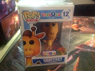 Funko Pop Ad Icons GEOFFREY #12 Toys R Us Exclusive- Golden Ticket *OPENED BOX*