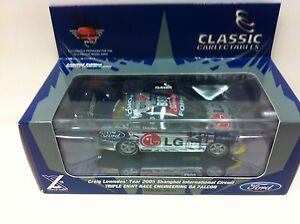 DIECAST MODEL EXPO 1:43 2005 Craig Lowndes BA Falcon Triple 8 Racing