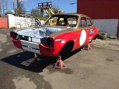 Escort mk 1 shell 1975 Allan Mann racing colours