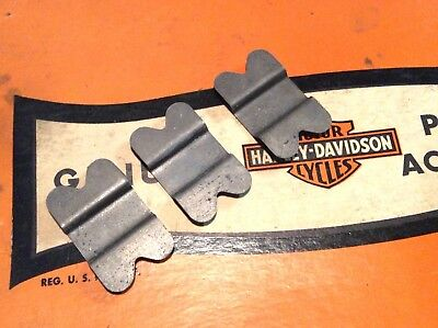 KNUCKLEHEAD FLATHEAD FRONT REAR FENDER BRACE CLIP VL RL WL BUTTERFLY THIS FOR 3! ()