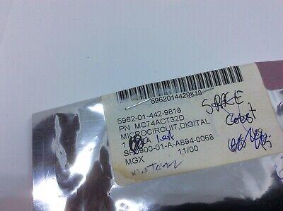 Freescale Mc74act32d Microcircuit 5962-01-442-9818