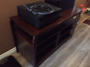 TV Audio Cabinet solid wood