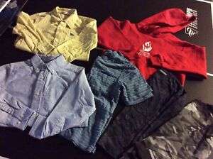 Boys size XS / 5-6 clothing lot