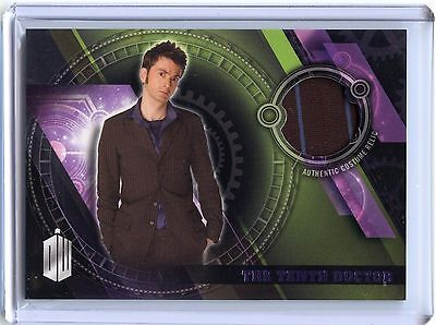 2016 Topps Doctor Who Timeless PURPLE The Tenth Doctor Costume Relic!! 17/50!!