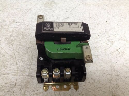 GE General Electric CR205H0 Size 00 Contactor 115 VAC Coil 55-153472G2 CR205HO
