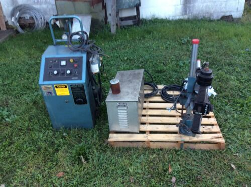 UNI-TEK (ELECTRO ARC) MODEL 325, TAP DISINTEGRATOR, SERVO FEED, Freight/pickup