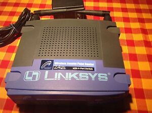 Linksys Router BEFW11S4 v2