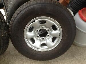 Hilux tire and wheel brand new SR15 Cardiff Lake Macquarie Area Preview