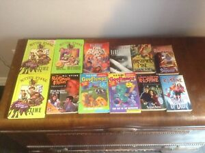 Y/A Horror Books Lot