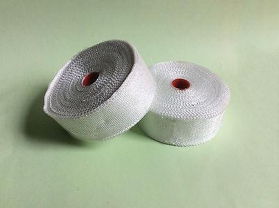 1 Roll Fiberglass Cloth Tape E-glass Wide 25mm 30m Long Fiber Plain Weave