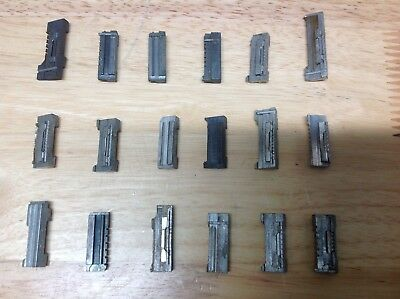 1 Curtis Model 15 Key Cutter Carriages. Various Available Pick From List
