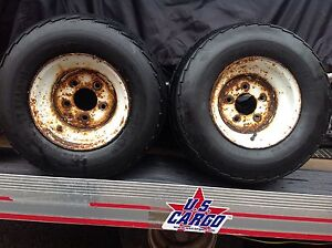 Trailer tires Size 20.5 X 8.0 - 10