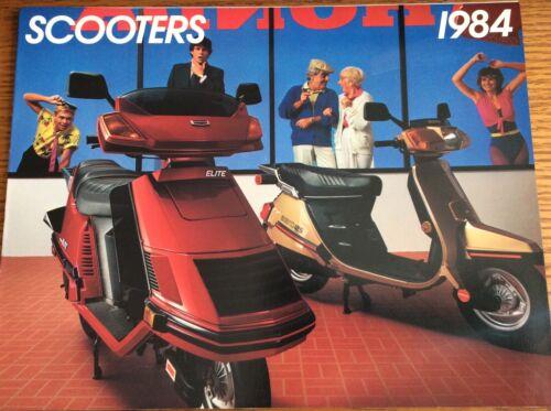 VINTAGE 1984 HONDA SCOOTER SALES BROCHURE