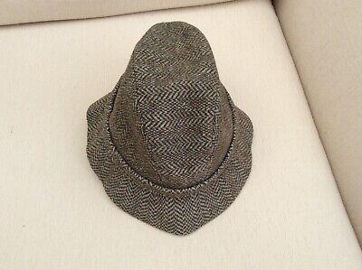 Men's Kangol tweed  trilby style hat. XL