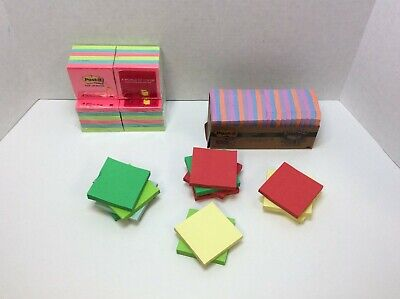 Post-it Notes Americas Favorite Sticky Note Multi-colors Asstd. Sizes 61 Ct