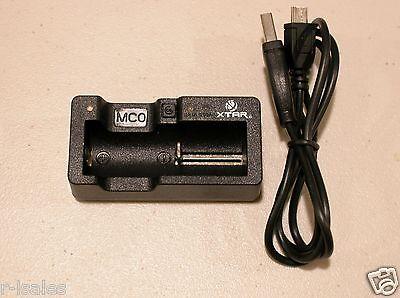 XTAR MC0 Smart Battery Charger for Li-ion 16340 10440 14500 18350 18500 MCO 3.7v