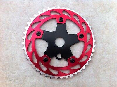 "BMX Bike ChainRing Sprocket 44T x 1//8/"" Holly Saw Bicycles"