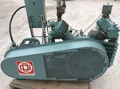 20 Hp Gardner Denver Air Compressor Avqlb High Pressure 250 Psi Abpsda8 Low Hrs