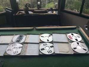 """6 x 10.5x1/4"""" reel to reel metal used 1x 3M 986 unused Nelson Bay Port Stephens Area Preview"""