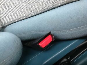 HOLDEN VK  VL Commodore Calais NEW Seat belt buttons HDT BROCK WALKINSHAW TURBO