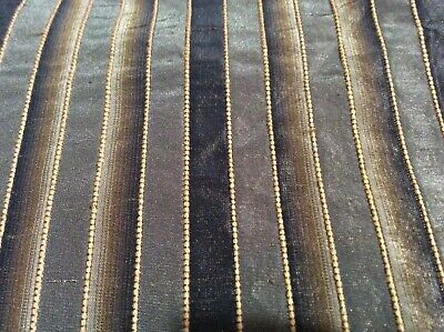 Gold, Brown Multi-Color Home Decor Fabric - 4 (Gold Brown Color)